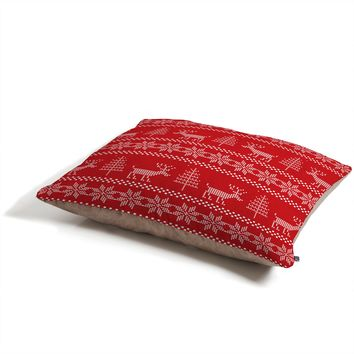 Natt Christmas Knitting Deer Pet Bed