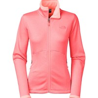 The North Face Womens Agave Jacket in Neon Peach Heather C656-ELW