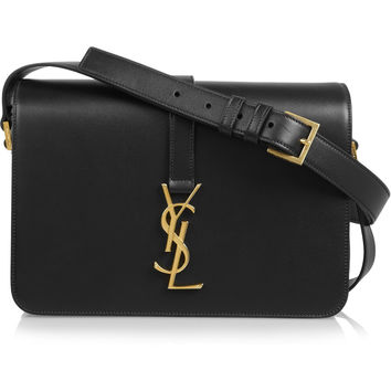 Saint Laurent - Monogramme Sac Université leather shoulder bag
