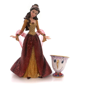 Disney Belle  With Chip Ornament Figurine