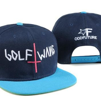 Fashion Baseball Caps Odd Future Golf Wang Men's Snapback Crosses Embroidery Hip-Hop Adjustable Hats Women Casquette Snap Back