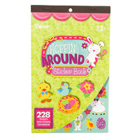ConsumerCrafts Product Hoppin' Around Sticker Book with 228 Easter Stickers