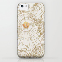 "Map and Compass Rose phone case Iphone 6, 5, 4, 4s Samsung Galaxy S3,S4, S5 ""Give Me Direction"" Phone Cases, unique, gift"