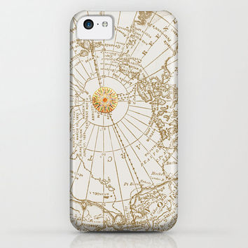 """Map and Compass Rose phone case Iphone 6, 5, 4, 4s Samsung Galaxy S3,S4, S5 """"Give Me Direction"""" Phone Cases, unique, gift"""