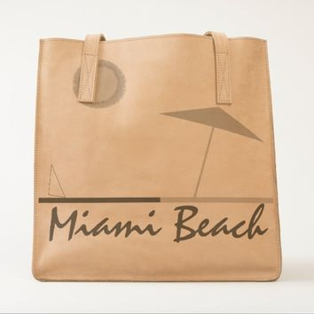 Miami Beach UBUNTU Collection Tote
