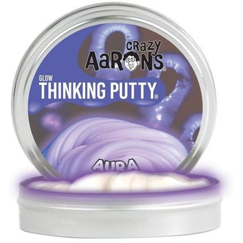Crazy Aaron's Glow in the Dark Thinking Putty