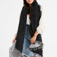 Cozy Intarsia Blanket Scarf | Urban Outfitters
