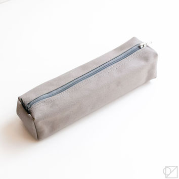 DELFONICS Marek Box Pencil Case Grey