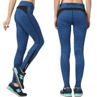 Women's Fashion High Waist Stretch Cotton Sweatpants Jogging Wearing Ladies Yoga Pants Gym Sports And Fitness Candy Color Capris Leggings = 4747034628