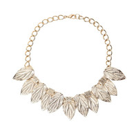 Crystal Leaves Necklace | perfectsunday.co