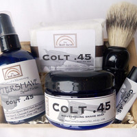 Free U.S. Shipping GIFTSET for Men Great Holiday Gift by Man Cave Soapworks - Choose Your Scent
