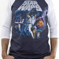 ROCKWORLDEAST - Star Wars, Baseball Jersey Shirt, Leforce