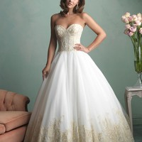 Allure Bridals 9171 Lace & Tulle Wedding Dress