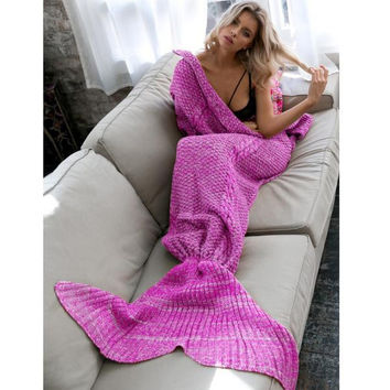 Mermaid Party to Be Adored Christmas Gift Blanket Roses