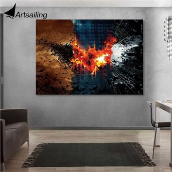 1 Piece Canvas Art Poster Batman Movie HD Canvas Painting Wall Art Canvas Prints Home Decor Pictures for Living Room XA1446C