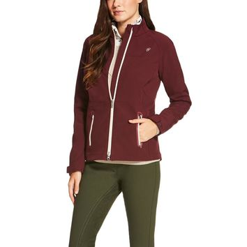 Ariat Ladies Vivid Softshell Jacket - Malbec