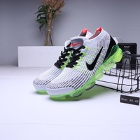 """Nike Air VaporMax 2019"" Men Fashion Multicolor Full Palm Small Air Cushion Running Shoes Sneakers"