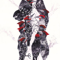 Pecking Order - Large Archival Print