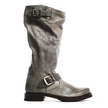 Frye Boot Veronica Slouch - Slate Knee-high Boot