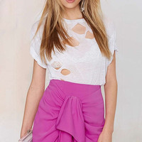 Pink Wrapped Skirt