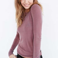 Truly Madly Deeply Callie Boatneck Top - Urban Outfitters