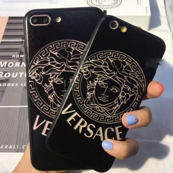 Versace Hollow out iPhone Phone Cover Case For iphone 6 6s 6plus a3c118210
