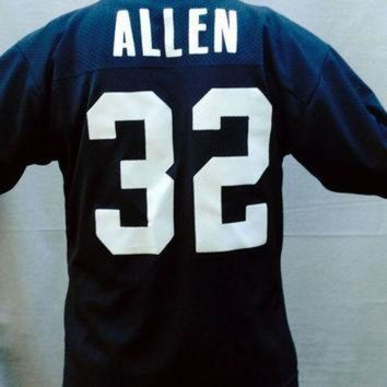 VLX9RV Vintage Football Jersey, Football, Marcus Allen Jersey, Los Angeles Raiders, NFL, Log