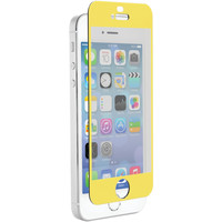 Znitro Iphone 5 And 5s And 5c Nitro Glass Screen Protector (soft Yellow)