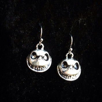 SALE Jack Skellington the Pumpkin King simply charmed earrings Nightmare Before Christmas