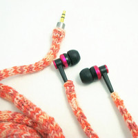 TangleFree  Earbud Cozy Coral and Pink by CasePhile on Etsy