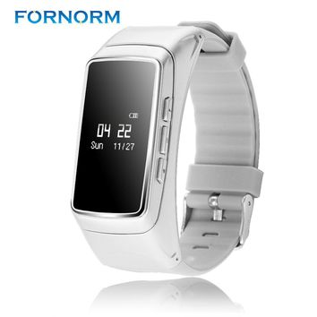FORNOM 2 in 1 Multifunction Bracelet Wristband Bluetooth Smart Watch Heart Rate Monitor Pedometer For IOS Android Smartphone