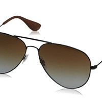 Cheap Ray Ban Aviator Sunglasses RB 3558 c. 002/T5 Black Polarized Gradient lens 58mm outlet