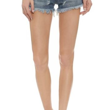 RES Denim Kitty Shorts