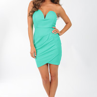 Hollywood Dream Dress: Seafoam
