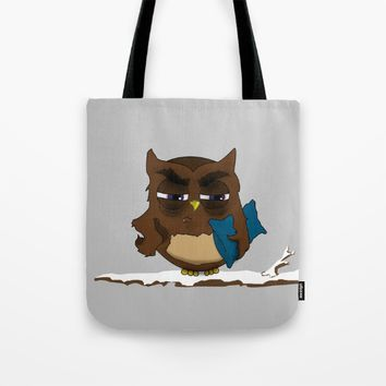 I want to sleep , Now!  Tote Bag by Xiari
