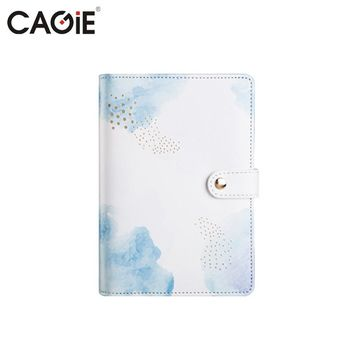 CAGIE Kawaii A6 Planner Diary Notebook Office&School Supplies Cute Personal Diary Sketchbook  Spiral Agenda Filofax Day Planner