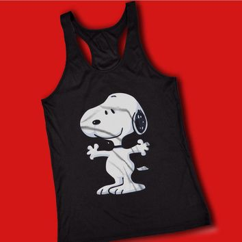 The Peanut Gang Happy Snoopy Women'S Tank Top