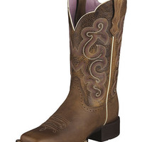 Ariat Quickdraw Badlands Boot - Wide Square Toe - Sheplers