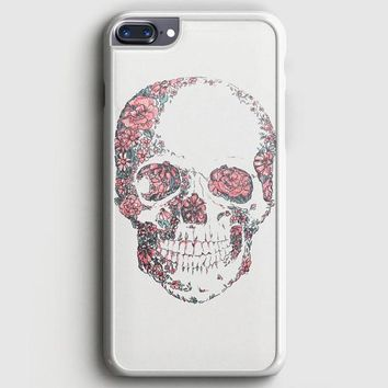 Floral Skull iPhone 8 Plus Case