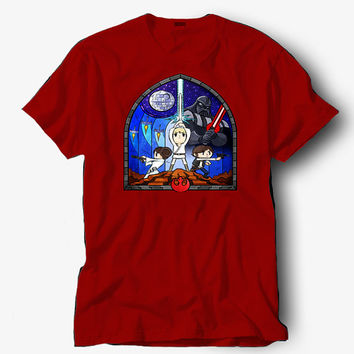 Window to a new hope shirt, Starbucks shirt, Hot product on USA, Funny Shirt, Colour Black White Gray Blue Red