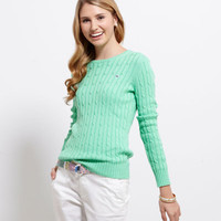 Women's Sweaters: Cotton Coral Lane Sweater – Vineyard Vines