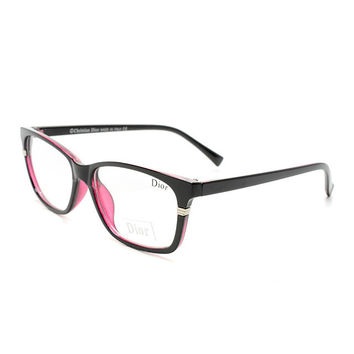 Perfect Dior Women Edgy Optical Clear Lens Fashion Brand Designer Eyeglasses Glasses