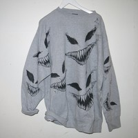 demon sweater 2XL