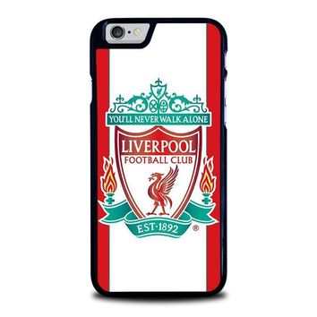 liverpool fc iphone 6 6s case cover  number 1