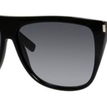 Yves Saint Laurent YSL Sl 1 Sunglasses 0807 Black