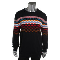 Nautica Mens Knit Pattern Pullover Sweater