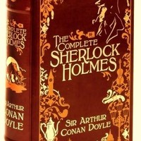 The Complete Sherlock Holmes [Leatherbound] Leather Bound – July 1, 2009