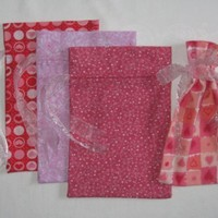 Valentine Gift Bags set of 4