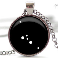 Taurus Constellation Pendant, Zodiac Jewelry in Your Choice of Finish (1230)