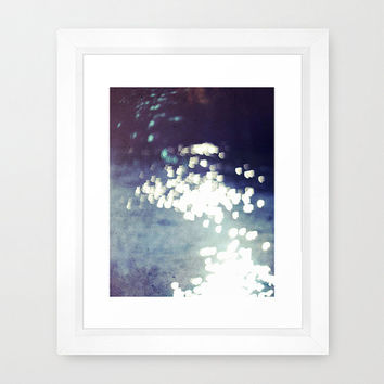 Abstract Wall Art, Abstract Photography, Bokeh Photography, Art Print, Glitter, Sparkle, Bohemian, Sparkling Light Over Water, Sparkly Loves